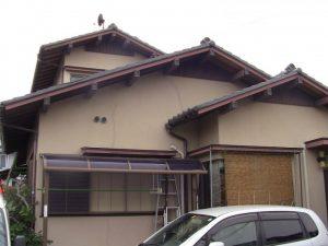 外壁塗装の施工例工事前写真①