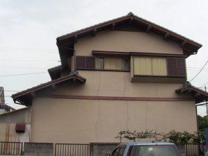 外壁塗装の施工例工事前写真②