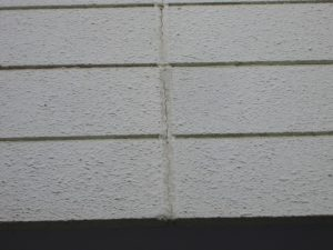 外壁塗装のサイン コーキング