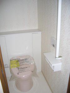 トイレ収納リフォーム例