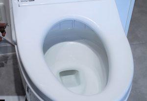 除菌水のトイレ